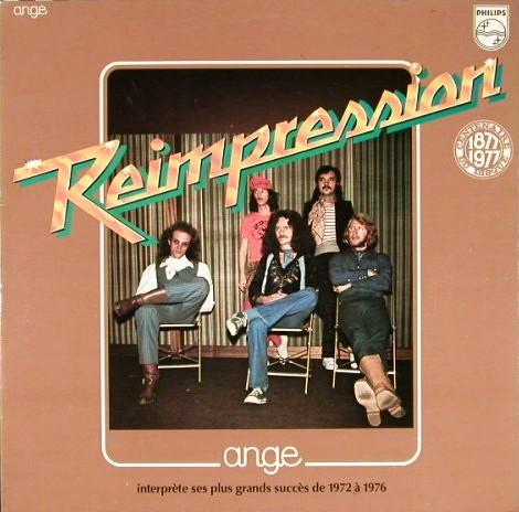 Ange R�impression 72-76 album cover