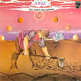 Ange - Au-Del� Du D�lire CD (album) cover