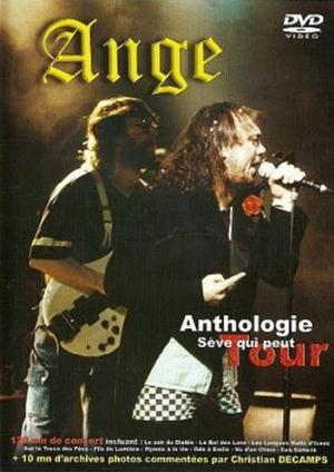 Ange - Anthologie - Sève Qui Peut Tour CD (album) cover