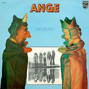 Ange - Caricatures CD (album) cover