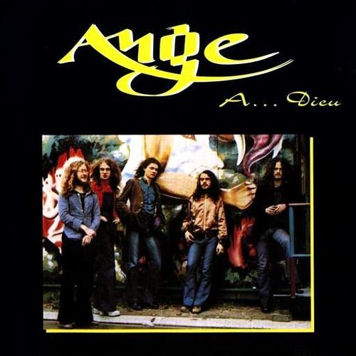 Ange A ... Dieu album cover