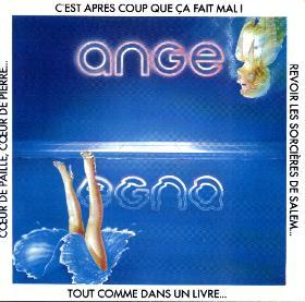 Ange - Egna  CD (album) cover