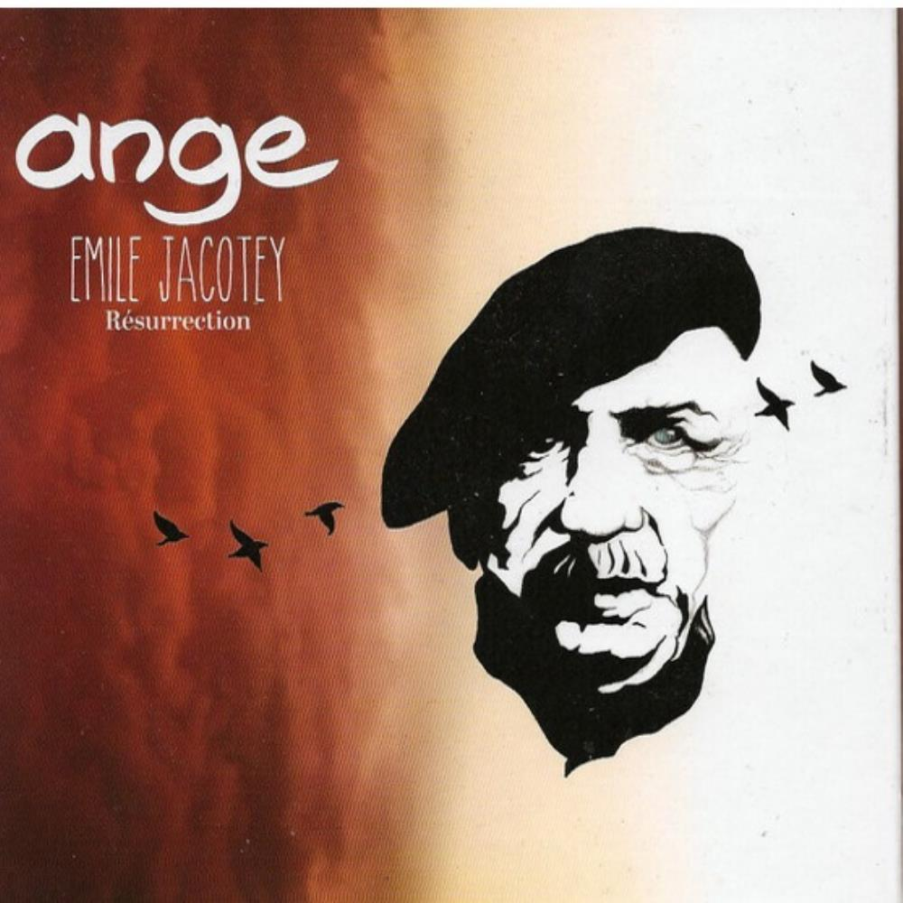 Ange - Emile Jacotey Résurrection CD (album) cover