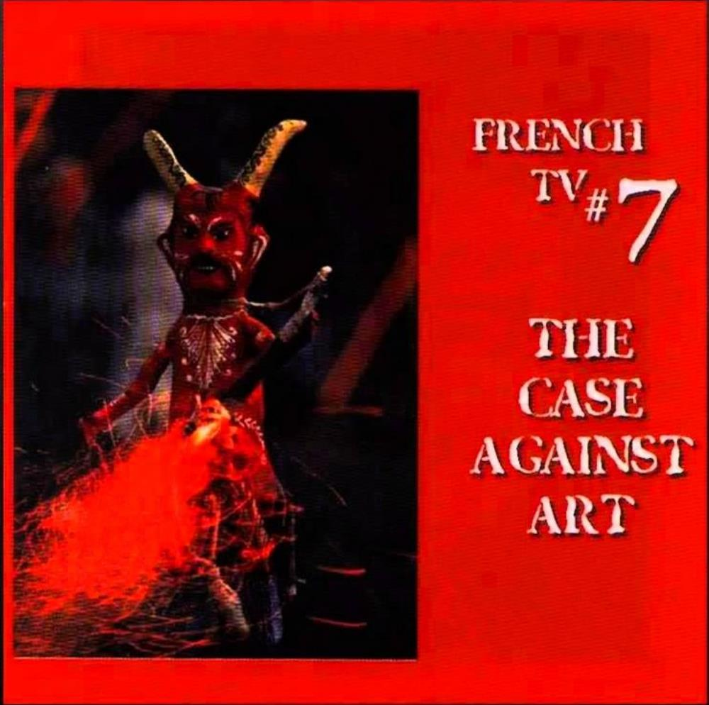 French TV - The Case Against Art CD (album) cover