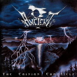 Ancient - The Cainian Chronicle CD (album) cover