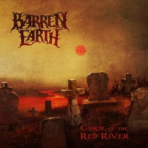 Barren Earth - Curse of the Red River CD (album) cover