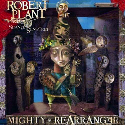 Robert Plant Mighty Rearranger album cover