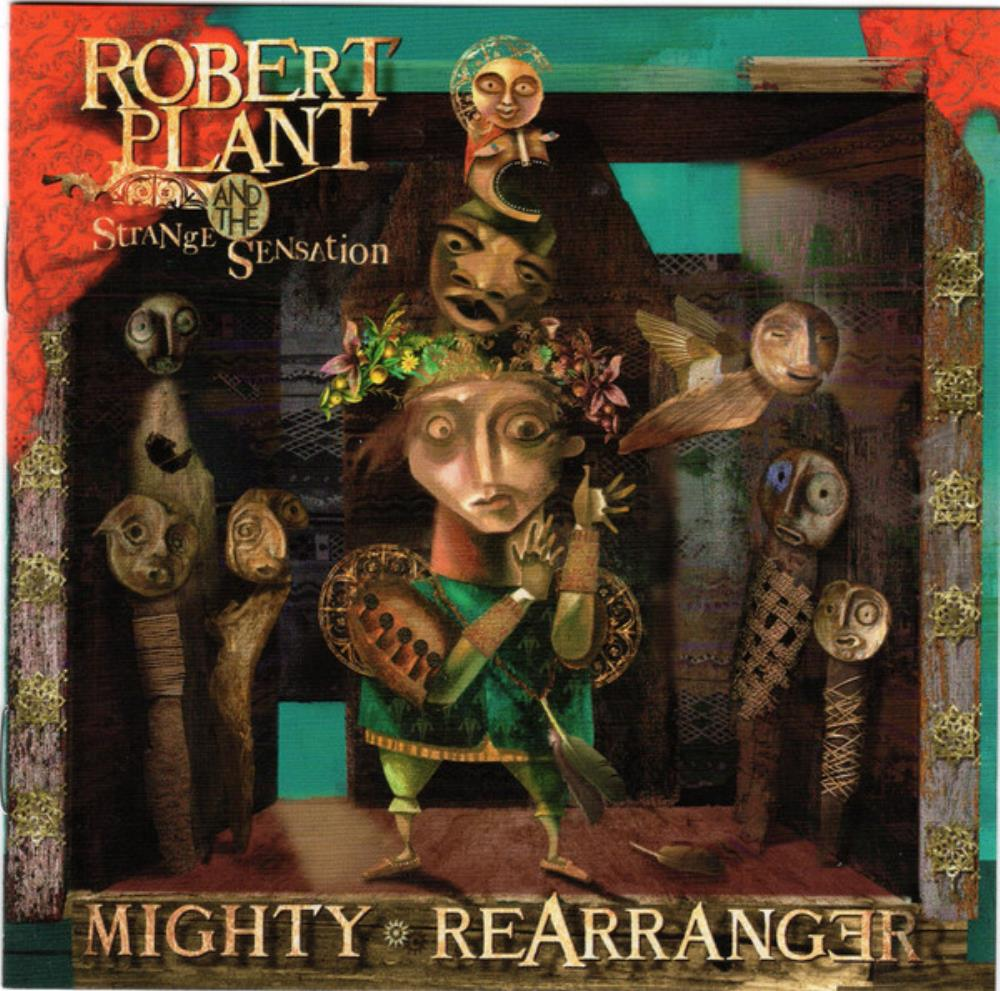 Robert Plant And The Strange Sensation: Mighty Rearranger by PLANT, ROBERT album cover