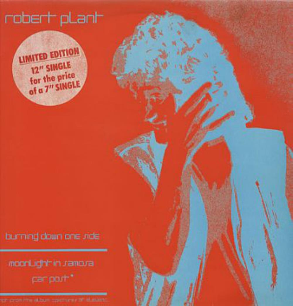 Burning Down One Side by PLANT, ROBERT album cover