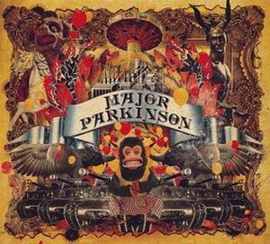 Major Parkinson - Major Parkinson CD (album) cover