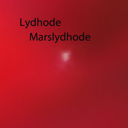 Lydhode - Marslydhode CD (album) cover
