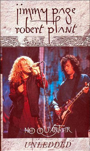 No Quarter Unledded by PAGE - ROBERT PLANT, JIMMY  album cover