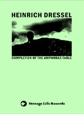 Heinrich Dressel - Completion Of The Amphoras Table CD (album) cover