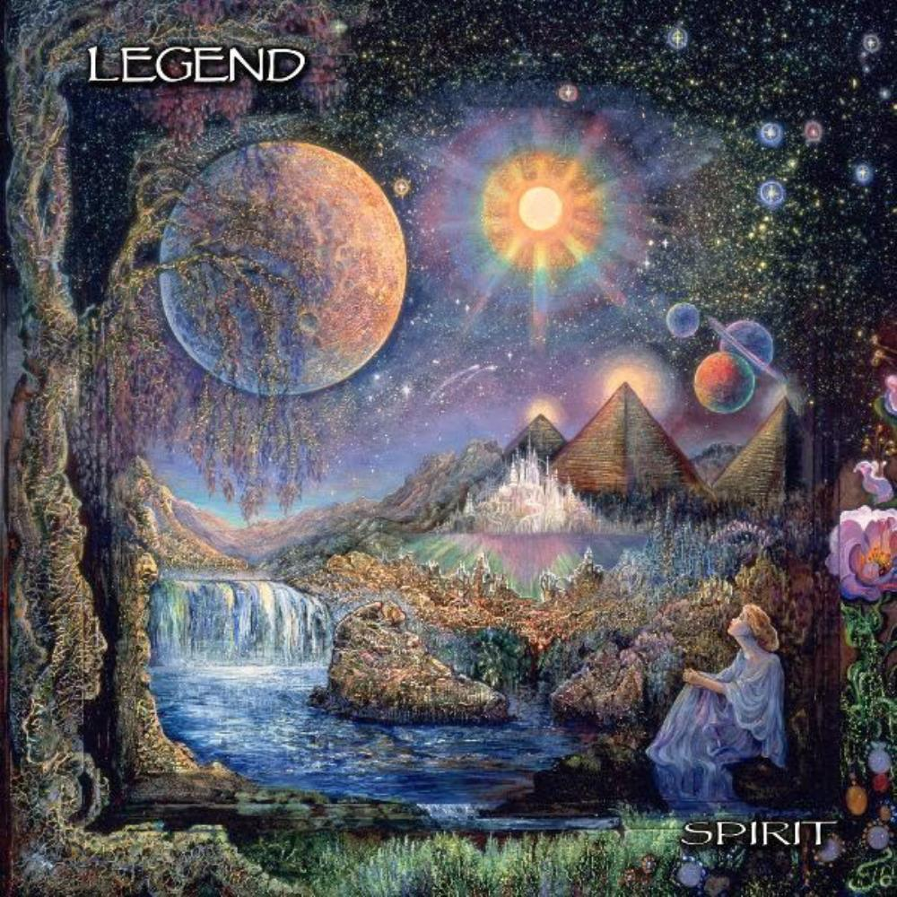 Legend - Spirit CD (album) cover