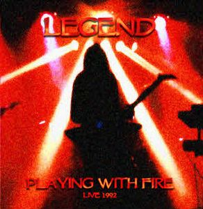 Legend - Playing With Fire CD (album) cover
