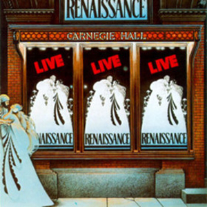 Live At Carnegie Hall by RENAISSANCE album cover