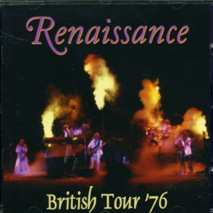 British Tour '76 by RENAISSANCE album cover