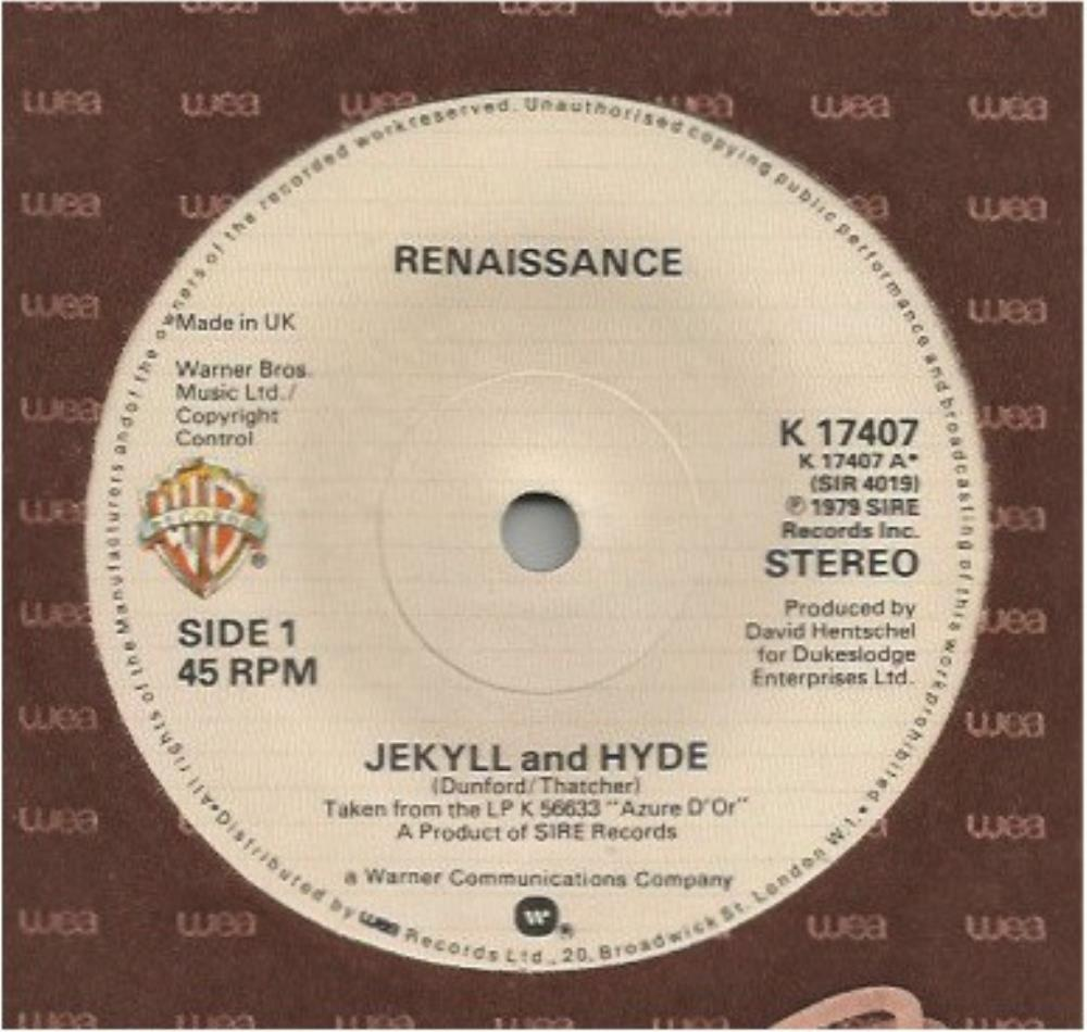 Renaissance Jekyll and Hyde album cover