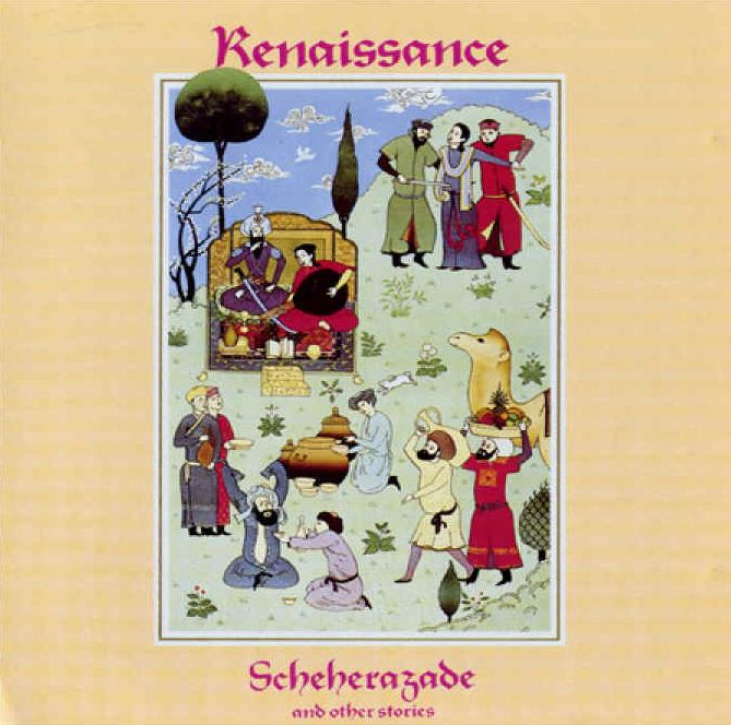 Scheherazade And Other Stories by RENAISSANCE album cover