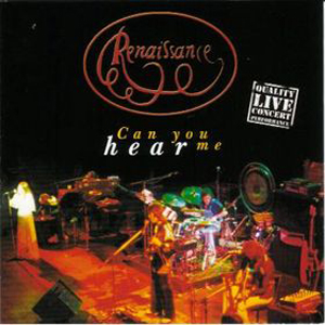 Renaissance - Can You Hear Me CD (album) cover