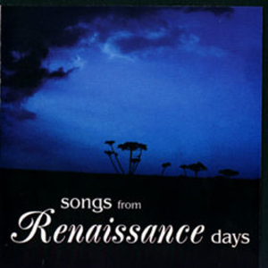 Renaissance Songs from Renaissance Days album cover