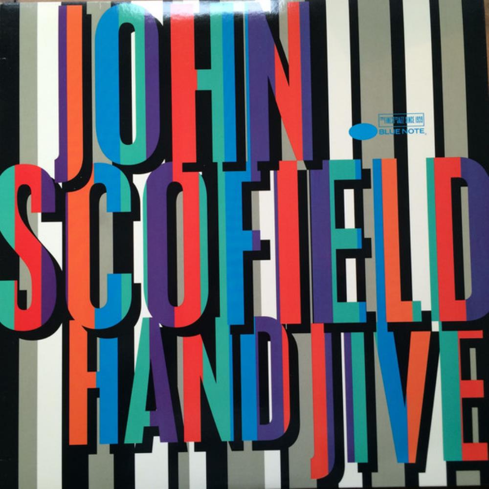 John Scofield - Hand Jive CD (album) cover