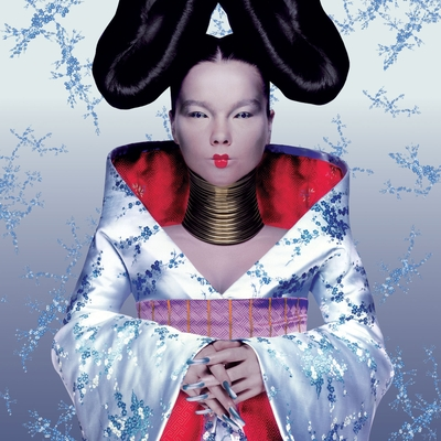 Homogenic by BJÖRK album cover