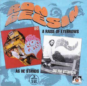 Ron Geesin - A Raise of Eyebrows / As He Stands CD (album) cover