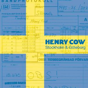 The Road: Volume 6 - Stockholm & Göteborg (40th Anniversary Boxset) by HENRY COW album cover