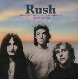 Kiel Auditorium, St Louis, MI, February 14 1980 by RUSH album cover