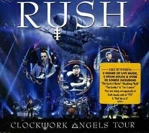 Rush Clockwork Angels Tour album cover