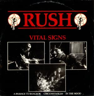 Rush Vital Signs / Passage To Bangkok / Circumstances / In The Mood album cover