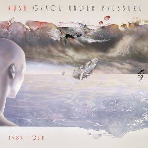 Rush Grace Under Pressure 1984 Tour album cover