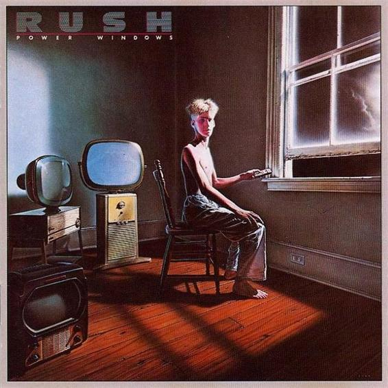 Rush - Power Windows CD (album) cover