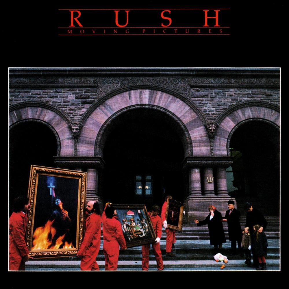Rush - Moving Pictures CD (album) cover