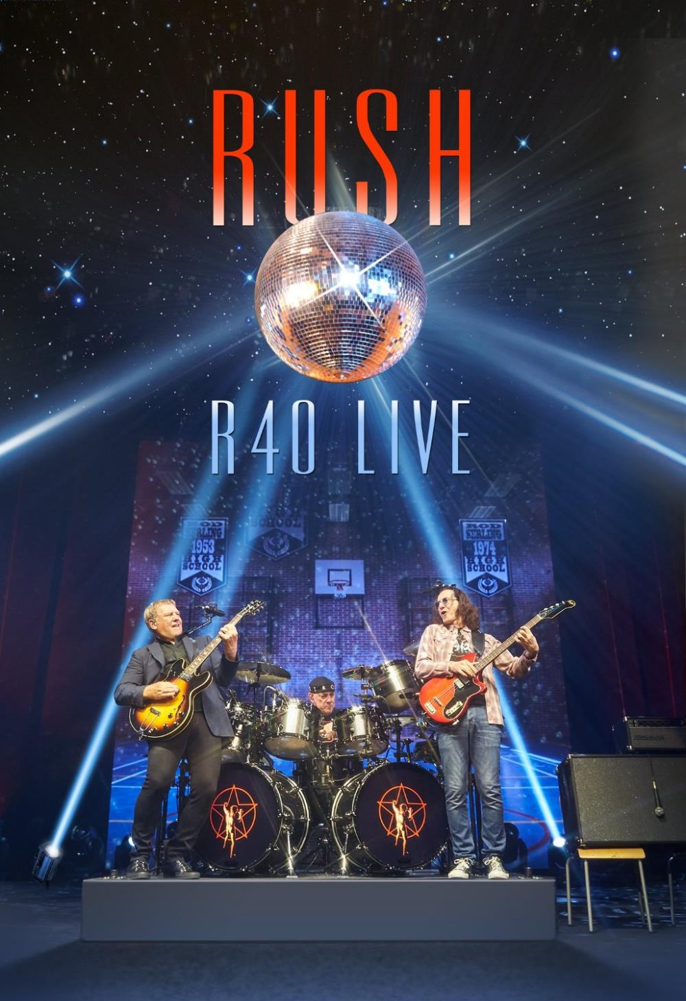 R40 Live by RUSH album cover