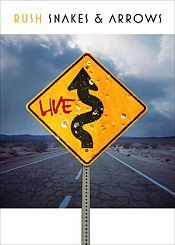 Rush - Snakes & Arrows Live CD (album) cover