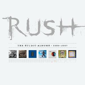 Rush The Studio Albums 1989-2007 album cover