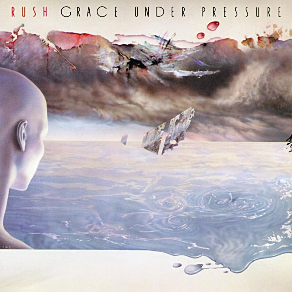 Grace Under Pressure by RUSH album cover
