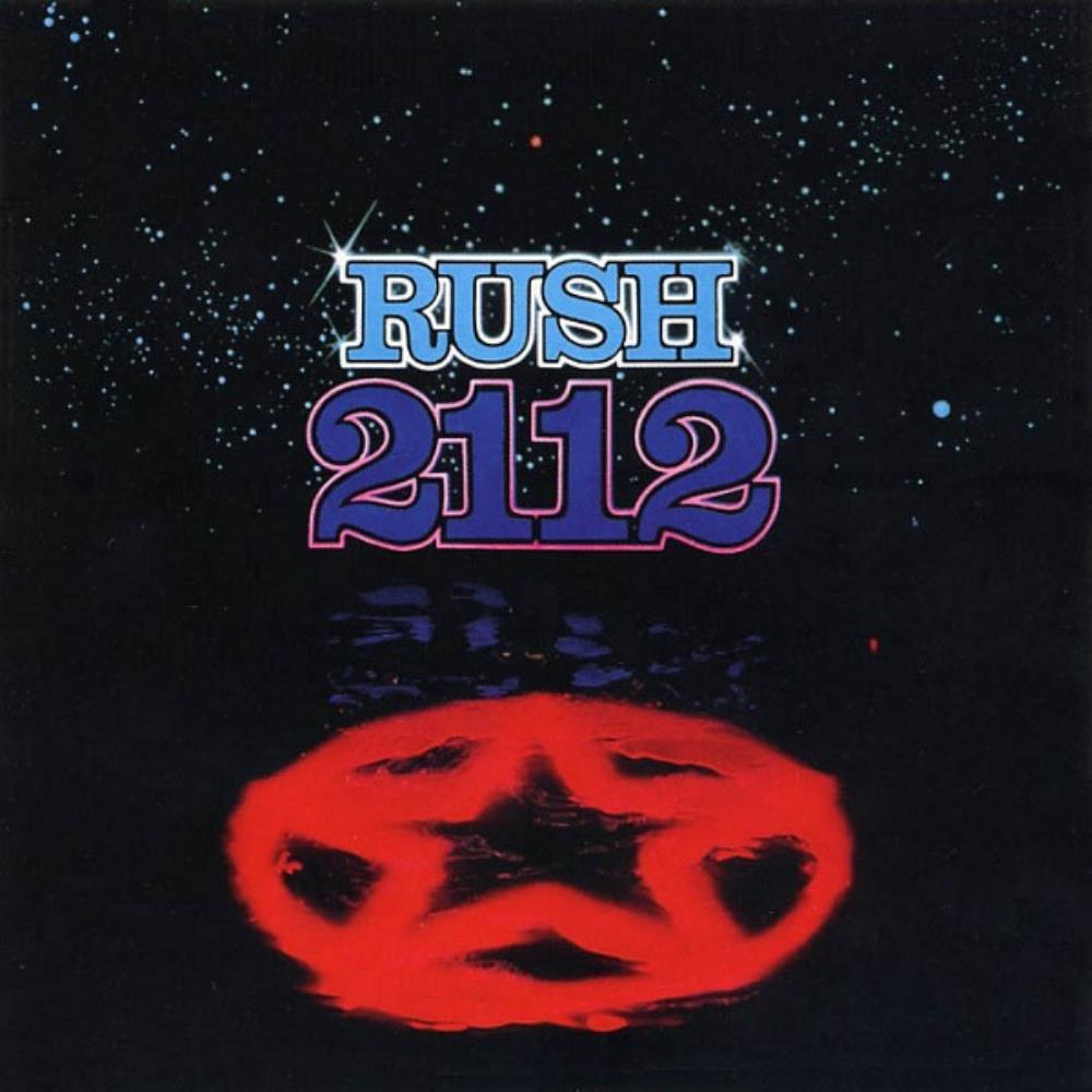 Rush - 2112 CD (album) cover
