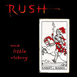 Rush One Little Victory album cover