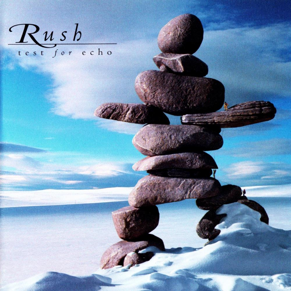 Rush - Test For Echo CD (album) cover