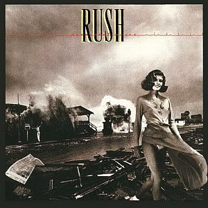 Rush Permanent Waves album cover