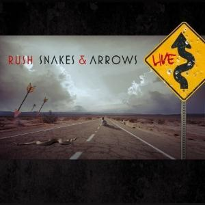 Rush Snakes & Arrows Live album cover