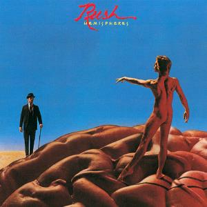 Hemispheres by RUSH album cover