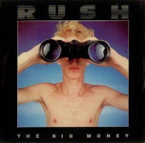 Rush The Big Money album cover