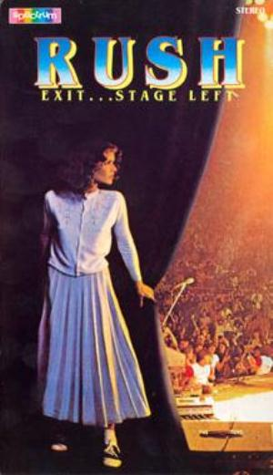 Rush Exit... Stage Left (VHS) album cover