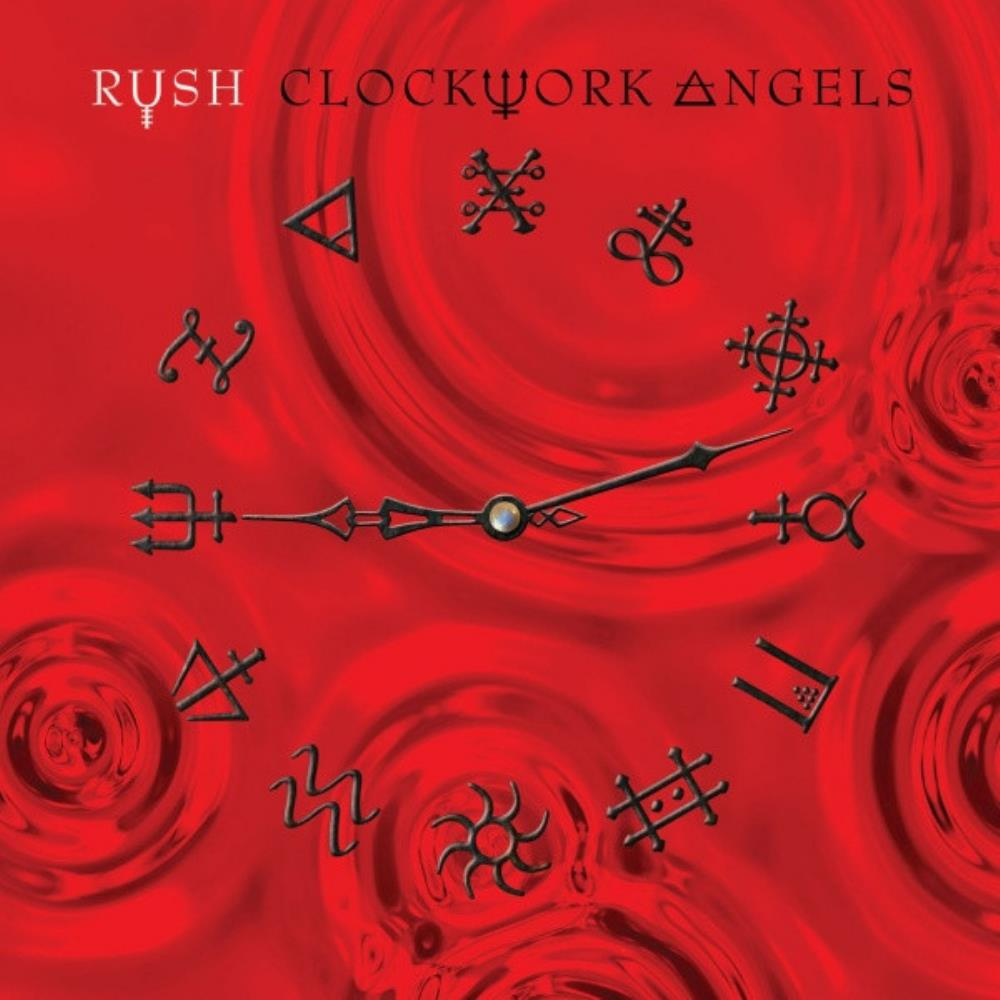 Rush - Clockwork Angels CD (album) cover