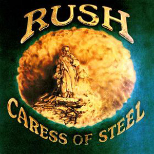 Caress Of Steel by RUSH album cover