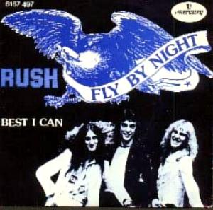 Rush Fly by Night album cover